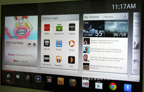 LG 55GA7900 Google TV LED TV