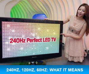 What does 240Hz Mean?