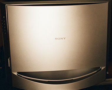 Sony LCD TV's sleek look